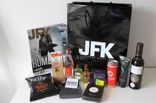 goodie bag jfk chauffeurstelefoon