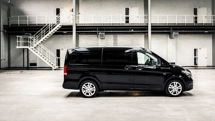 Mercedes V VIP met chauffeur
