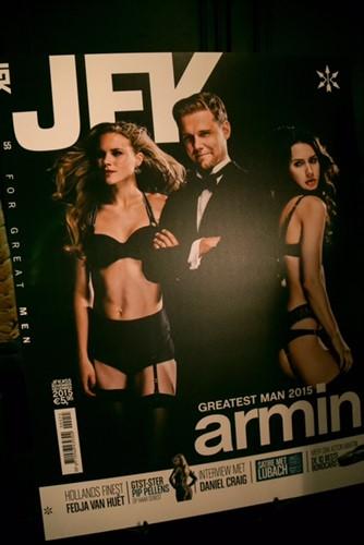 Armin van Buuren | JFK Greatest Men | Chauffeurstelefoon